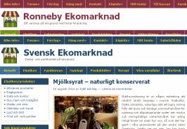Postorderverksamheten har nu helt överlåtis till Svensk Ekomarknad