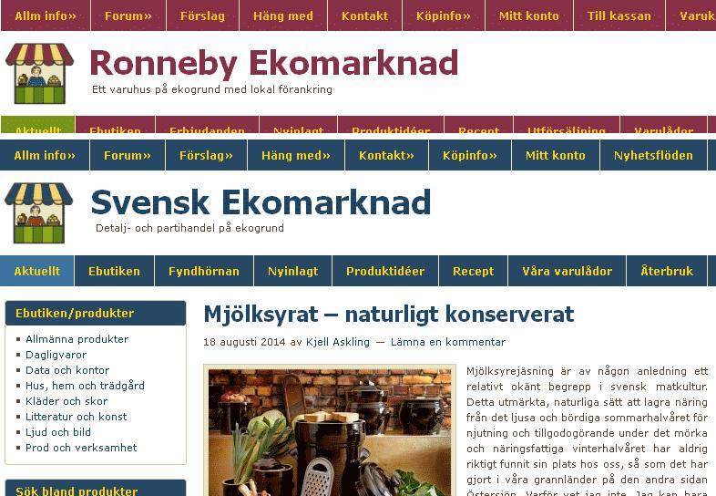 new product 59dac 96a95 Postorderverksamheten har nu helt överlåtis till Svensk Ekomarknad …